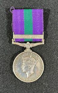 Post WW2 British General Service Medal (GSM), Palestine 1945-48 Bar