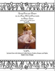 Ann Estelle 10in ~ Spring Dress & Romper ~ by Simply Grace Designs