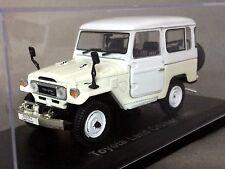 Toyota Land Cruiser Bj42 (1982) Diecast Scale Model Car 1:43 White Norev