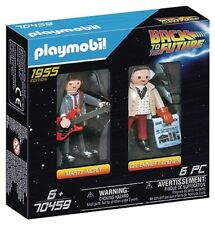 PLAYMOBIL #70459 Back to the Future Marty McFly & Doc NEW!