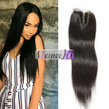 Pre Plucked Lace Closure With Baby Hair Virgin Indian Unprocessed Human Hair