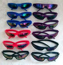 Punk New Wave Retro 80s Glasses Sunglasses Black Red Blue Purple Prop Party