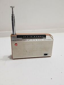 Radio Tascabile 2 Band NATIONAL PANASONIC model T-45  7-Transistor Vintage