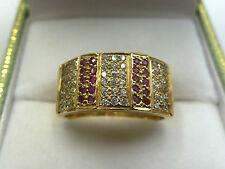 Echtschmuck-Ringe mit Rubin für Herren