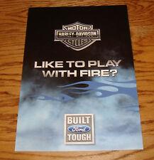 Original 2005 Ford Harley-Davidson F-Series Super Duty Sales Brochure 05