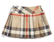 NWT $165 Burberry Check Print Skirt (Little Girls & Big Girls) Sz 8Y