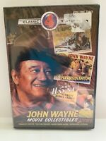 John Wayne 4 Western Movie Collectibles (DVD) NEW Sealed FREE Shipping