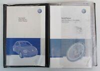 Genuine 2007 07 VW Volkswagen Beetle Owner's Owners Owner Manual Set Case Guide