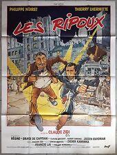 Affiche LES RIPOUX Claude Zidi PHLIPPE NOIRET Thirry Lhermitte 120x160cm *