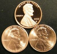 2020 P/&D Shield Lincoln cents from BU rolls PRE SALE..Buy More save more