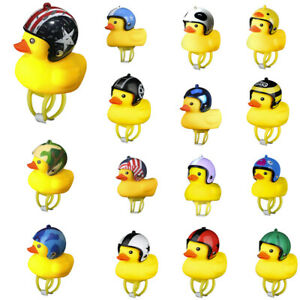 Cartoon Duck Head Light Shining Duck Bicycle Bells Handlebar Bicycle Accessories