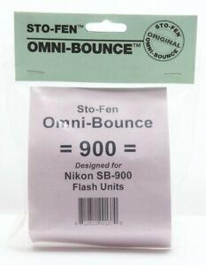 New Sto-Fen OM-900 Omni-Bounce Diffuser #11960
