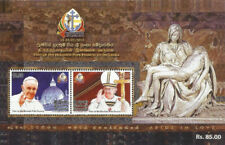 Sri Lanka Ceylon  2015 Seven (7) Miniature souvenir Sheets released in 2015