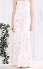 Bnwt🌹Monsoon🌹Size 10 Magnolia Multi Floral Print Silk Maxi Dress New Wedding