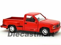 GMC SIERRA GT PICK UP 1992 1:24 Scale Diecast Toy Car Model Die Cast Truck Red