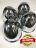 "Gorilla Center Cap 4.25"" Dia Push-Through Dome Chrome Steel HC202BT Set of 4"