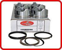 94-00 Chevy/Geo Tracker 1.6L SOHC L4 16v G16B G16KV  (4)Dish-Top Pistons & Rings