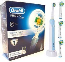 BRAUN Electric toothbrush Oral-B Pro 770 + 4 end tips