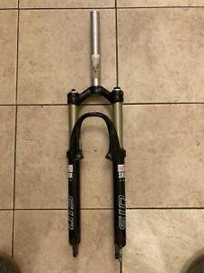 """Rock Shox SID 26"""" Mountain bike Front Shock Fork Suspension Disk Rim X Country"""