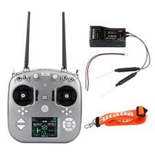 X9 9CH 2.4GHz 0ISM Radio Transmitter & X9D Receiver for Helicopter,Glider,Drone