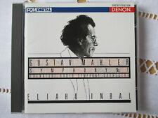 Gustav Mahler - Symphony No.1 - Eliahu Inbal - Denon Japan CD - Neuwertig