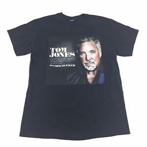 Tom Jones Greatest Hits Rediscovered Concert T-Shirt - Women's Size M