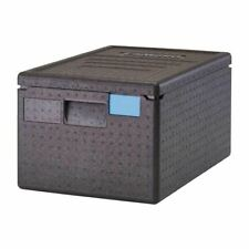 More details for cambro economic insulated top loading food pan carrier in black - 46l