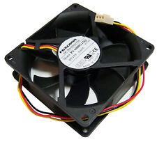HP 12v DC 0.65a 80x25mm 3-Wire Fan PVA080G12Q-F03-AE 3-Pin Foxconn New Pull