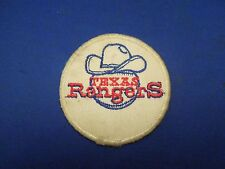 Vintage Texas Rangers Baseball Team Sports Embroidered Iron On Patch