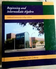 Beginning And Intermediate Algebra Oakland Community College Edition