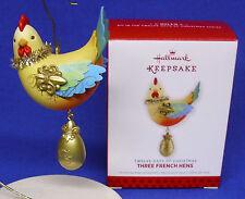 Hallmark Series Ornament Twelve 12 Days of Christmas #3 2013 Three French Hens