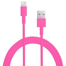 Pink Long 3m 10ft USB Cable for iPhone 6S 6 5S 5C iPod Touch 5 Charger Data Sync