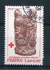 FRANCE 1980 timbre 2117, CROIX ROUGE, oblitéré