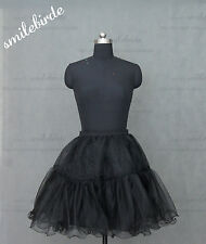 "Color Shirt Tulle Skirt 20"" knee length Crinoline Petticoat Tutu Dancewear Skirt"