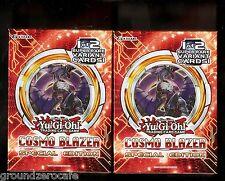 YuGiOh 2x Cosmo Blazer SE Mini Box x2 Factory Sealed