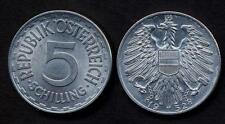AUSTRIA 5 Schilling 1952  VF
