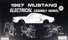 1967 Ford Mustang Electrical Assembly Manual Wiring Diagram Schematic