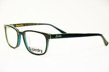 Superdry Quinn Kunststoff grün Brille 107 52  Neu Unisex