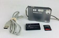 Hp PhotoSmart R827 7.4Mp Digital Camera - Silver With Memory Card And Usb Cable