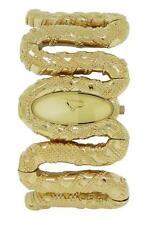 Roberto Cavalli R7253195517 Cleopatra Women's Gold Tone Snake Bracelet Watch