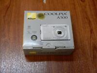 NEW in Box - Nikon Coolpix A300 20.1 MP Camera - SILVER - 018208265190