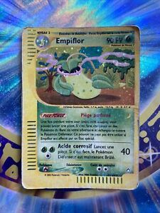 Pokemon Empiflor (Holo) Aquapolis VF En Français Foil Rare