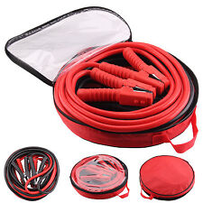 HEAVY DUTY 1200AMP CAR VAN JUMP LEADS 6 METRE BOOSTER CABLES START NEW