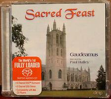 DMP Hybrid SACD-09: SACRED FEAST- Gaudeamus, Paul Halley - 2000 USA OOP NM