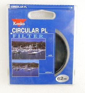 62mm Kenko Circular PL POLARIZER Filter - Circular POLARIZING - NEW