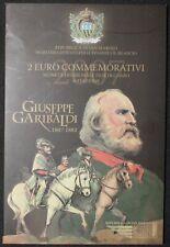 2007 | San Marino Giuseppe Garibaldi 2 Euro Coin Pack | Coins | KM Coins