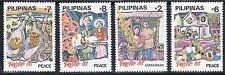 SELLOS NAVIDAD FILIPINAS 1993  2040/43  4v.