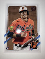 2021 Topps Series 1 Ryan Mountcastle RC #143 Baltimore Orioles Rookie Cup