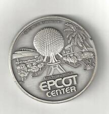 1982 PEWTER EPCOT WALT DISNEY WORLD COIN TOKEN MEDAL MEDALLION INAUGURAL YEAR