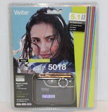 NEW Vivitar ViviCam 5018 Digital Camera 5.1 Mega Pixels 8X Digital Zoom Vivi Cam